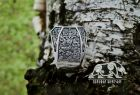 Valkyrie Ring Loki Mask Ring Viking Ring Mammen Style Ring Sterling Silver Scandinavian Norse Ring Viking Jewelry (based on Cammin Casket)