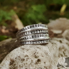Viking Ring with Traditional Viking Design Sterling Silver Ring Scandinavian Сlassic Ornament Ring Norse Ring Viking Jewelry