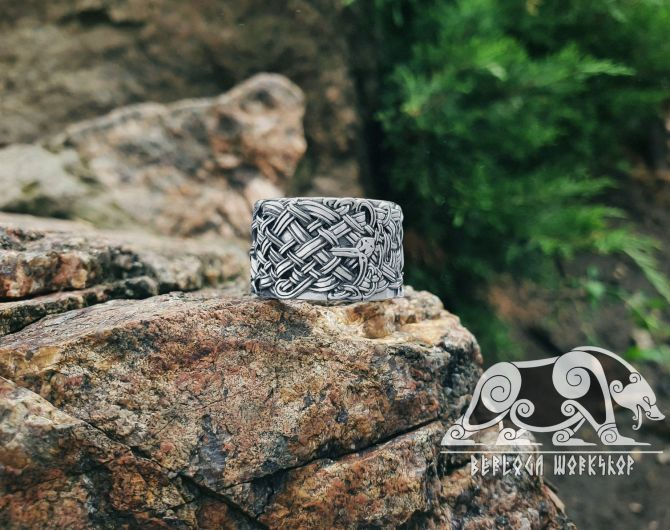 Celtic Dragons Ring Sterling Silver Celtic Ring Great Detailed Ring Celtic Jewelry