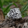 Viking Ring Replica Norway 12th-13th century Sterling Silver Ring Scandinavian Сlassic Ornament Ring Norse Ring Viking Jewelry