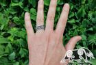 Urnes Ring Viking Ring Detailed Dragons Ornament Ring Viking Urnes Style Ring Sterling Silver Norse Ring Viking Jewelry (Tandgarve, Sweden)