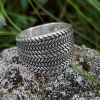 Gotland Replica Ring 10th cent. Viking Ring Traditional Viking Design Sterling Silver Ring Scandinavian Ring Norse Ring Viking Jewelry (1)