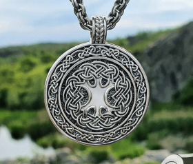 Yggdrasil Pendant Viking Pendant (World Tree Pendant) Sterling Silver Norse Pendant Viking Necklace Yggdrasil Necklace Viking Jewelry