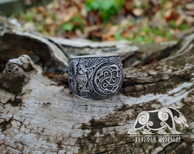 Vendel Ravens Ring Odin