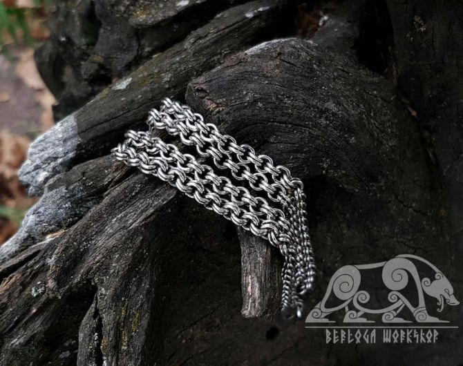 Viking Chain For Pendants Viking Necklace Replica Sterling Silver Chain Scandinavian Norse Viking Jewelry