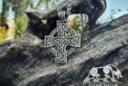 Celtic Cross Pendant Sterling Silver Celtic Pendant Celtic Necklace Norse Celtic Jewelry