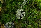 Veles (with bears) Kolovrat Slavic Pendant Amulet Sterling Silver Necklace Norse Jewelry