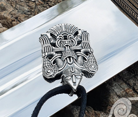 Winged Man Viking Pendant Replica from Uppakra in Sweden Sterling Silver Viking Necklace Scandinavian Norse Viking Jewelry