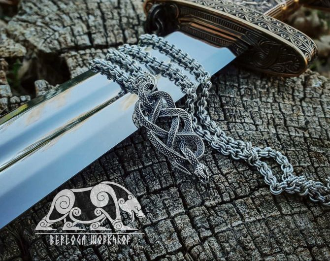 Viper School Medallion Witcher Medallion Snake Necklace Snake Pendant Snake Medallion Sterling Silver Pendant Cosplay Pendant Snake Jewelry