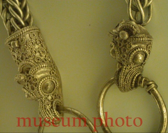 Set Raven Heads Best Chain Replica Viking Necklace with Thor