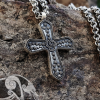 Viking Cross Pendant Viking Replica Sterling Silver Viking Necklace Norse Viking Jewelry Cross from Birka, Sweden (bj.750 burial place)