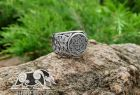 Valkyrie Ring Viking Ring Great Detailed Ring (design based on portal of stave church Borgund) Sterling Silver Norse Ring Viking Jewelry