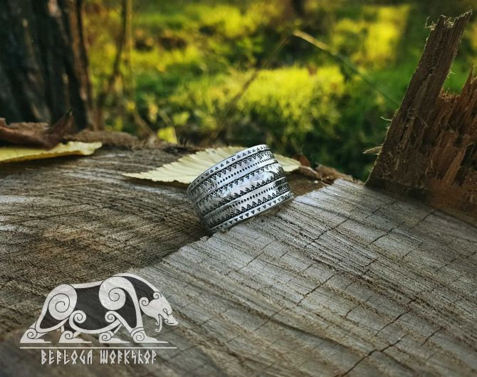 Gotland Replica Ring 10th cent. Viking Ring Traditional Viking Design Sterling Silver Ring Scandinavian Ring Norse Ring Viking Jewelry (4)