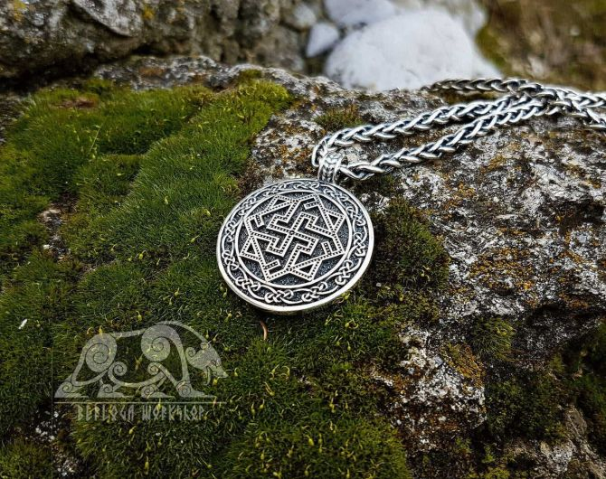 Valkyrie Viking Pendant Sterling Silver Viking Necklace Valkyrie Pendant  Scandinavian Norse Viking Jewelry