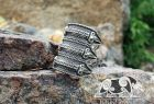 Viking Ravens Ring Viking Replica Ring Viking Ring Raven Ring Viking Design Sterling Silver Ring Scandinavian Norse Ring Viking Jewelry