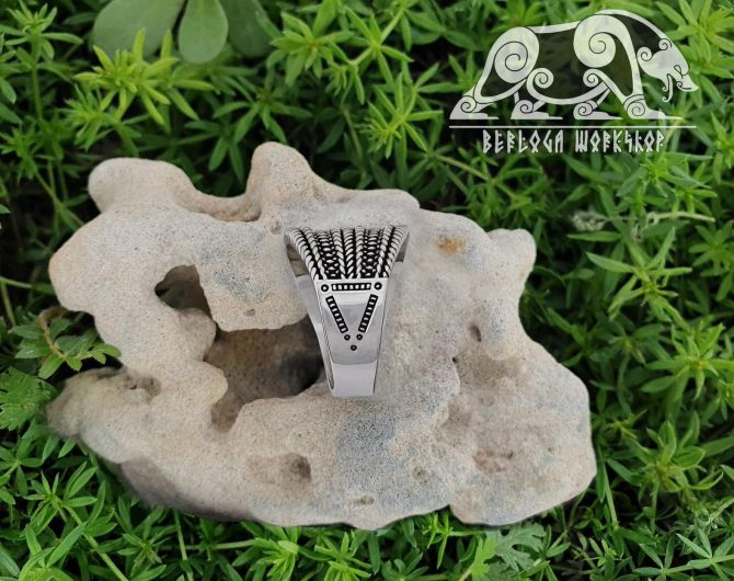 Gotland Replica Ring 10th cent. Viking Ring Traditional Viking Design Sterling Silver Ring Ring Norse Ring Viking Jewelry