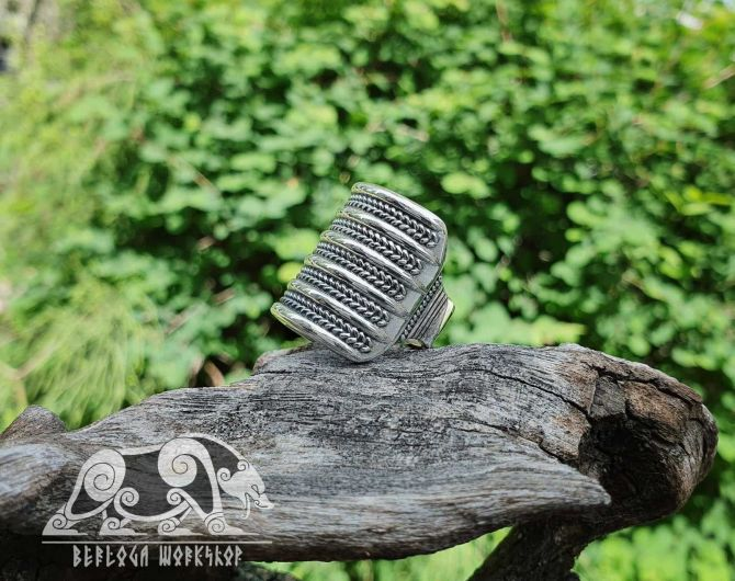 Viking Replica Ring Viking Ring Traditional Viking Design Sterling Silver Ring Scandinavian Ring Norse Ring Viking Jewelry