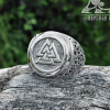 Valknut Ring Viking Ring Mammen Style Sterling Silver Ring Scandinavian Norse Viking Jewelry