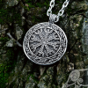 The Helm of Awe Pendant (Aegishjalmur Pendant) Viking Pendant Sterling Silver Viking Necklace Scandinavian Norse Viking Jewelry