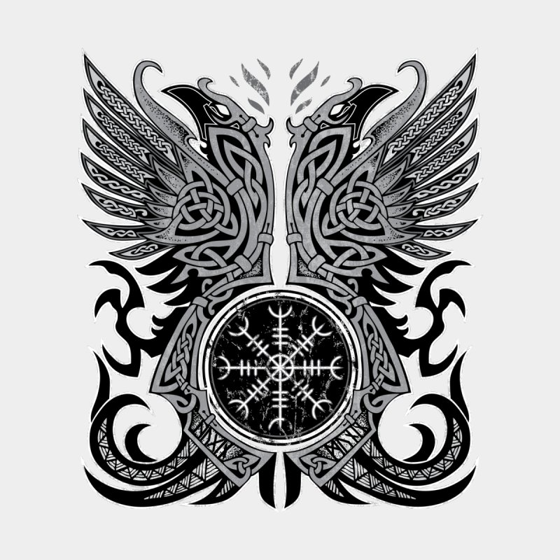 Huginn And Muninn The Twin Ravens Of Odin